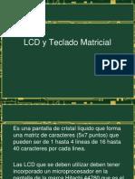 LCD y Teclado Matricial