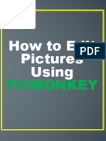 How to Edit Pictures Using Picmonkey