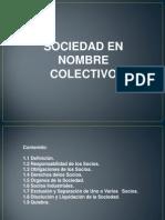 Sociedad en Nombre Colectivo (1)