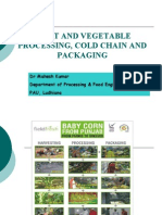 Baby Corn Processing Ppt