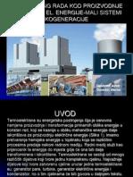 Monitoring Rada Kod Proizvodnje Toplotne i El. Energije-mali Sistemi Kogeneracije