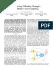 Optimizing Offloading Strategies in Mobile Cloud Computing