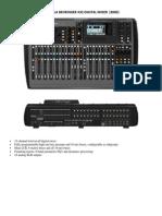 Consola Behringer x32 Digital Mixer