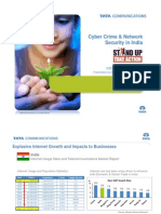 Cyber Crime and Network Security in India