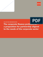 ACCA and the corporate sector