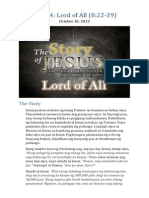 Part 14 - Lord of All (Luke 8:22-39)