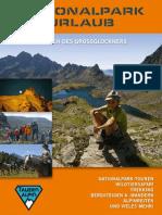 Prospekt National Park Hohe Tauern