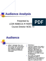 Audience Analysis.ppt
