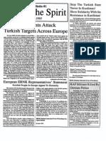 Arm The Spirit Info Bulletin - Number 1 - June 1993