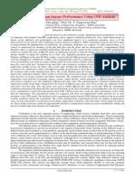 Optimizing Bunsen burner Performance Using CFD Analysis
