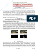 A Novel Background Subtraction Algorithm for Dynamic Texture Scenes
