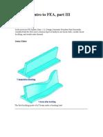 Designers Intro to FEA-III