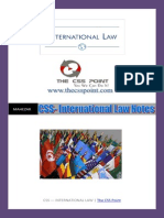 International Law Notes