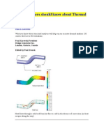 What Designers Should Know About Thermal Analysis