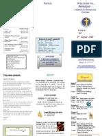 Newsletter 020809