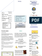 Newsletter 2 Aug 2009