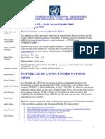 ACNUExpress Vol.4 No.10 - Du 1 Au 31 Juillet 2009