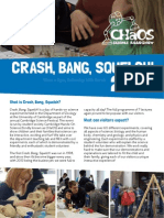 Crash, Bang, Squelch! Report 2013