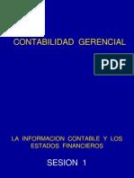 Sesion - 1 - Informacion Contable