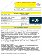 BOLTRIGHT Tightening Procedure 20-900