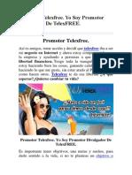 Promotor Telexfree. Yo Soy Promotor Divulgador De TelexFREE..pdf