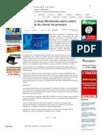SiteBarra » Novembro Azul_ Movimento alerta sobre prevenção do câncer de próstata