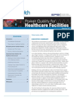 Power Quality for Healthcare Facilities