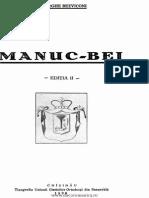 Bezviconi,Gheorghi, Manuc Bey