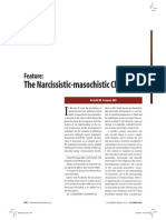 Narcissist-Masochist Character by Arnold Cooper