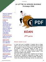 Choix de Koan Zen
