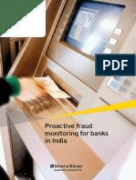 Proactive Fraud Monitoring