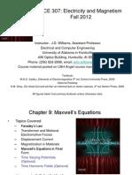 EE 307 Chapter 9 - Maxwells Eqns
