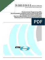 ETSI EN 300 019-2-3 2003