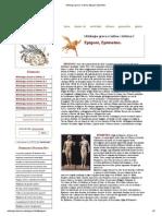 Mitologia greca e latina - Epigoni, Epimeteo.pdf