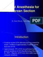 General Anesthesia for Cesarean Section- kuliah 9-10.ppt