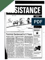 Resistance - Number 13 - Summer 1989