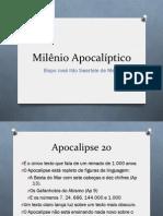 Apocalipse 20 à luz dos Evangelhos