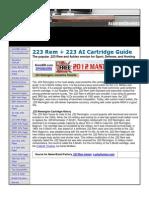 .223 Rem + .223 AI Cartridge Guide
