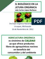 dr. edmundo CONTROL BIOLÓGICO EN LA AGRICULTURA ORGÁNICA