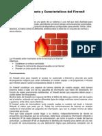 Funcionamiento y Características del Firewall