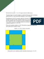 Examen Final de Historia de La Matematica