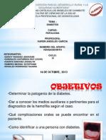 Odontologia Ramirez Medina Estephane Diabetes