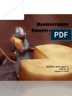 Manufacturing Process of Cheese - A Written Report.pdf