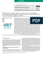 Developing future surgical workforce structures, A review of post-training non-Consultant grade specialist roles and the results of a national trainee survey from the Association of Surgeons in Training.pdf