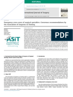 Emergency cross-cover of surgical specialties, Consensus recommendations by the Association of Surgeons in Training.pdf