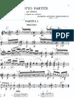 Brescianello - Partita I