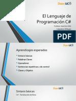 1. El Lenguaje de Programación C#