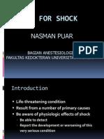 Fluids for Shock  .ppt