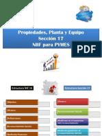 NIIFPYMES2009-Seccion 17 Propiedades Planta y Equipo