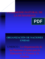 PATRIMONIO NATURAL DE LA HUMANIDAD.ppt
